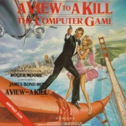 A View To A Kill : The Computer Game (Amstrad CPC Version)