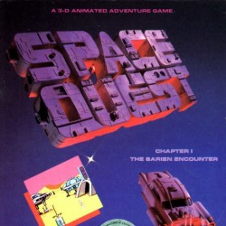 Space Quest I: Roger Wilco in the Sarien Encounter (DOS Version)