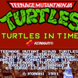 Teenage Mutant Ninja Turtles : Turtles in Time (Arcade Version)