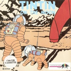 Tintin sur la Lune (Commodore 64 Version)