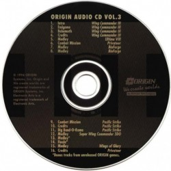 Origin Audio CD Volume 3