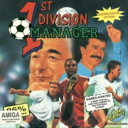 1st Division Manager (Amiga Version)
