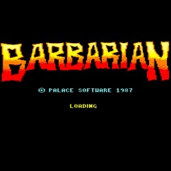 Barbarian : The Ultimate Warrior (Amstrad CPC Version)