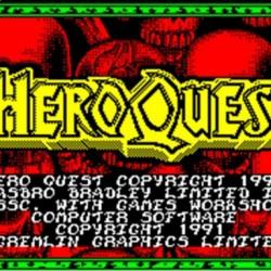 HeroQuest (ZX Spectrum Version)