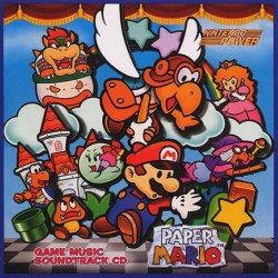 Paper Mario Game Music Soundtrack CD
