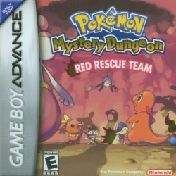 Pokemon Mystery Dungeon : Red Rescue Team (Game Boy Advance Version)