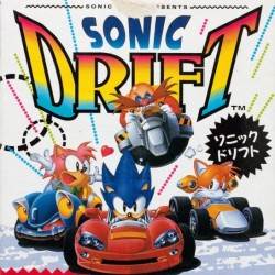 Sonic Drift II  (Game Gear Version)