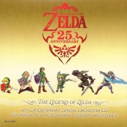 The Legend Of Zelda : 25th Anniversary Special Orchestra CD