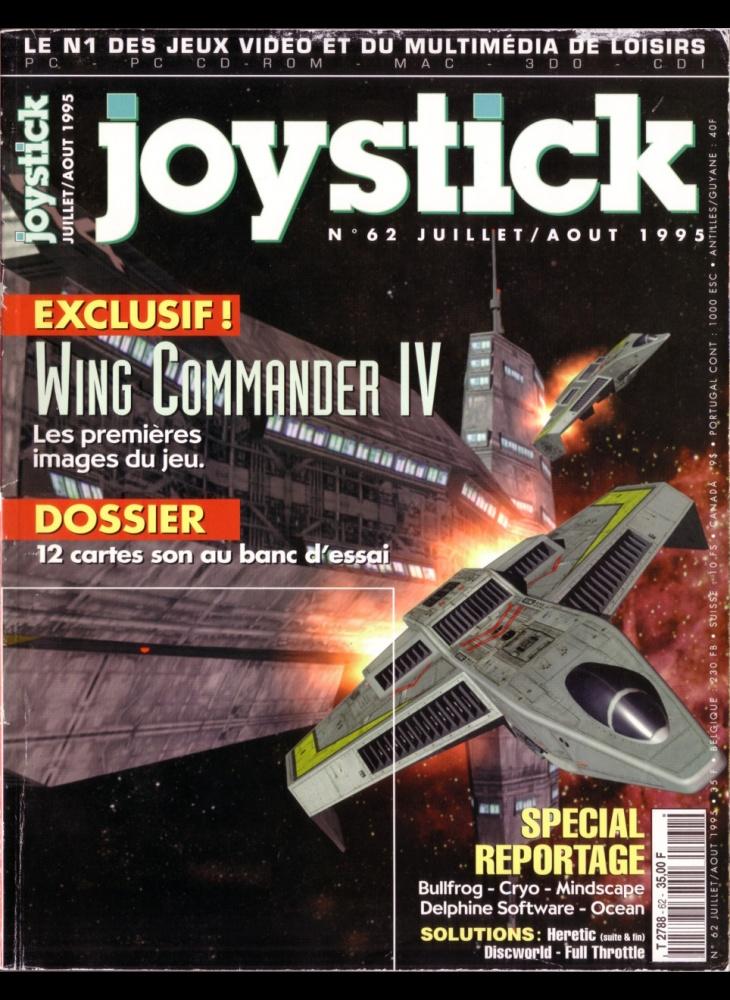Numero 62 du magazine Joystick - ABANDONWARE FRANCE