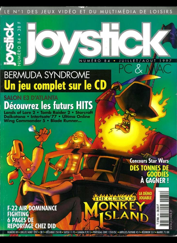 Numero 84 du magazine Joystick - ABANDONWARE FRANCE