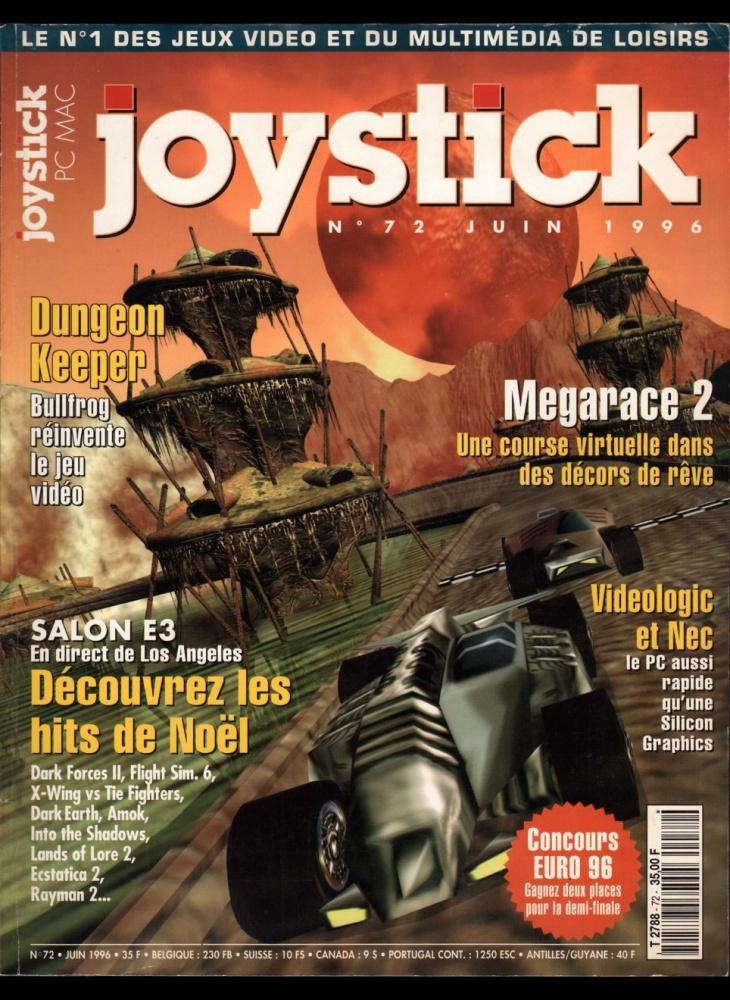 Numero 72 du magazine Joystick - ABANDONWARE FRANCE