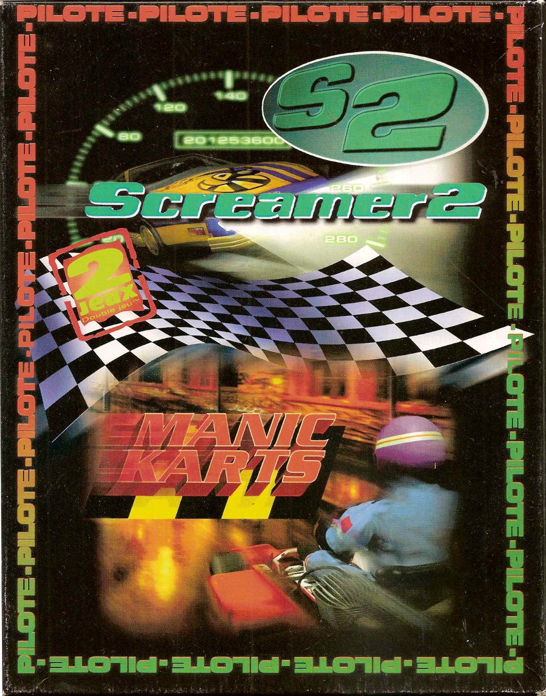 image : /images_abandonware/compilations/105DoublePiloteFrontCover.jpg