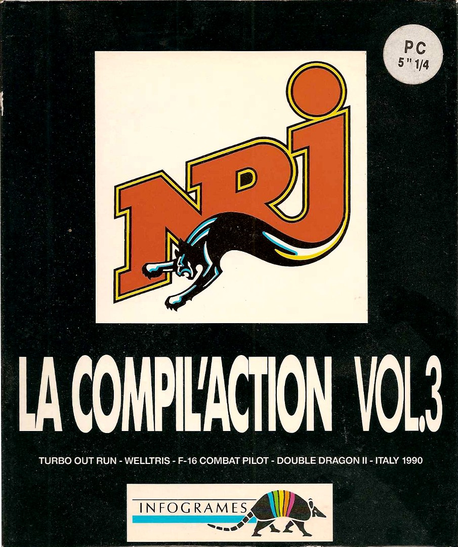 image : NRJ : la compil'action vol. 3