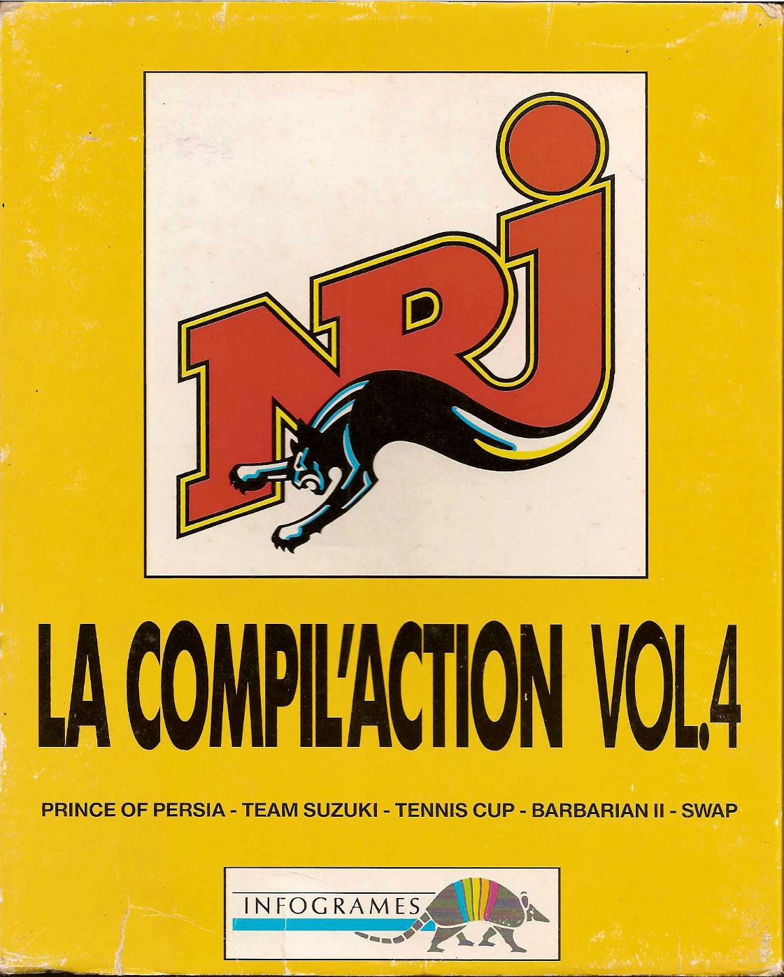 image : NRJ : la compil'action vol. 4