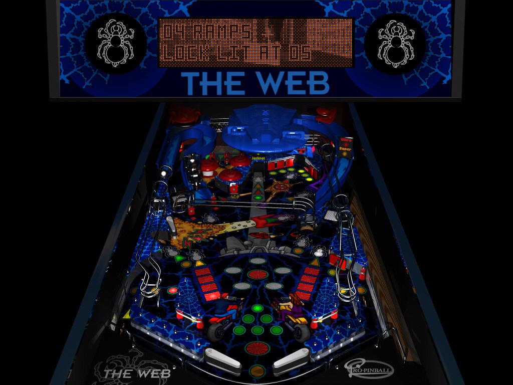 pro-pinball : the web