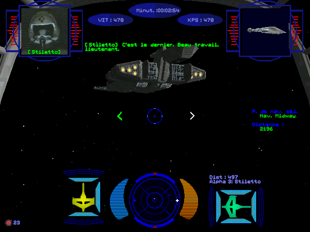 wing commander : prophecy