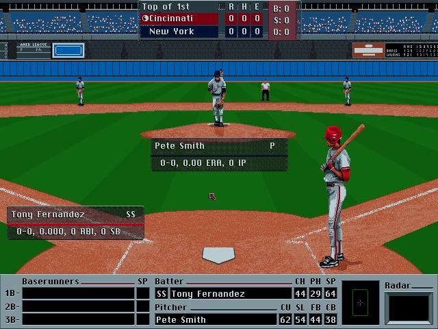 front page sports : baseball '94