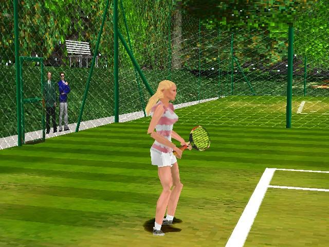 game, net & match !
