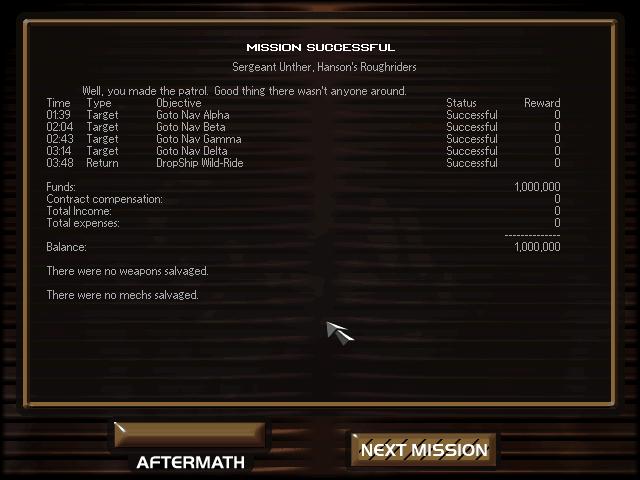 mechwarrior 2 : mercenaries