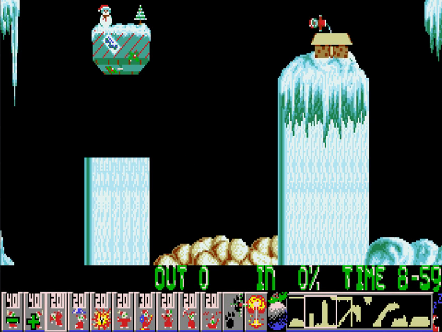 x-mas lemmings 1992