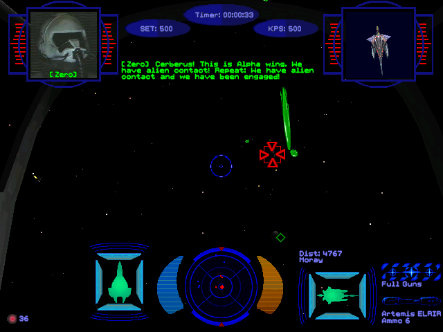 wing commander : secret ops