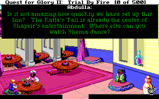 quest for glory ii : trial by fire