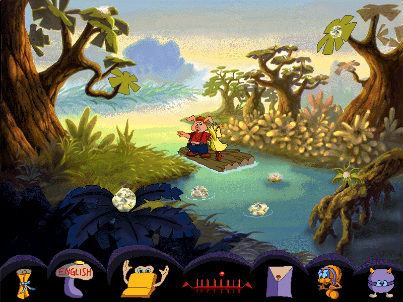 pong pong's learning adventure - the lost world