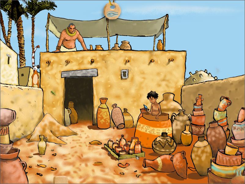 sethi et la couronne d'egypte