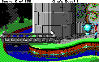 king's quest i : quest for the crown (sci)