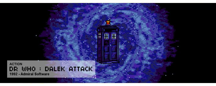 Dr Who : Dalek Attack - Action - 1992 - Admiral Software