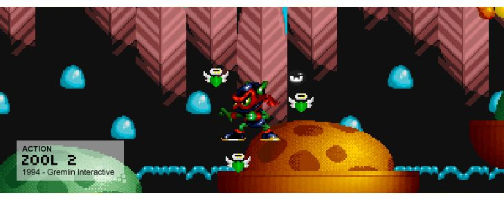 Zool 2 - Action - 1994 - Gremlin Interactive
