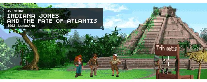 Indiana Jones and the Fate of Atlantis - Aventure - 1992 - LucasArts