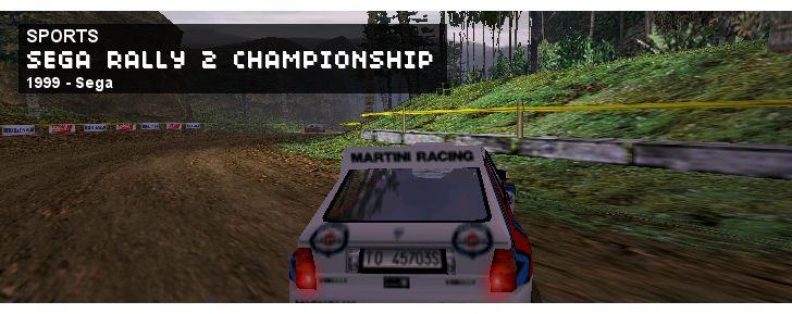 Sega Rally Championship 2 - Sports - 1999 - Sega